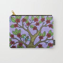 The Bee Tree Carry-All Pouch