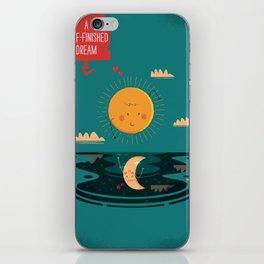 :::A Half-Finished Dream::: iPhone Skin