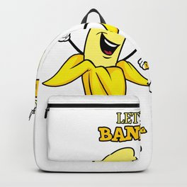 Let's go Bananas Funny Backpack