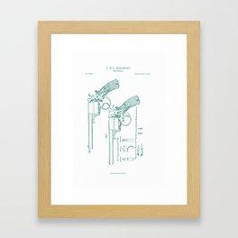 Beaumont Revolver ~2 Framed Art Print
