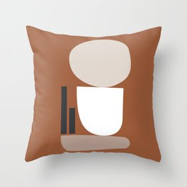 Shape study #11 - Stackable Collection Throw Pillow