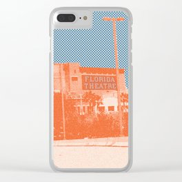 Jacksonville, Florida theatre - Modern photography pop art print Clear iPhone Case