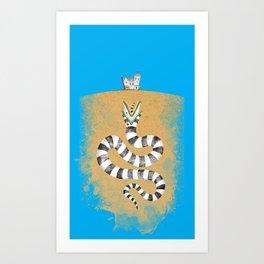Recently Deceased Art Print