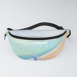"Georges Seurat ""The Channel of Gravelines, Petit Fort Philippe"" Fanny Pack"