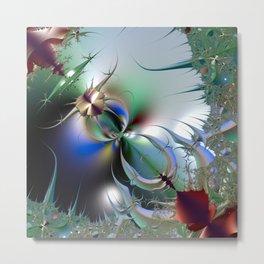 Imaginary Vegetation Metal Print