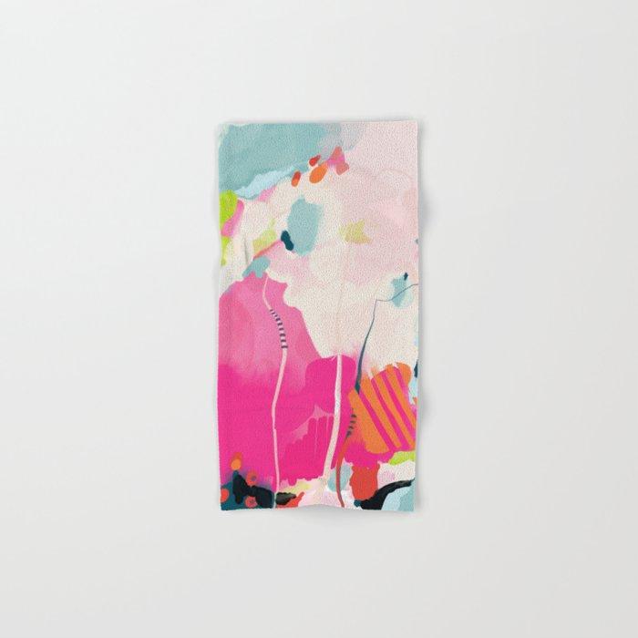 pink sky II Hand & Bath Towel