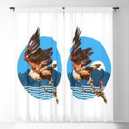 Eagles Fly Blackout Curtain