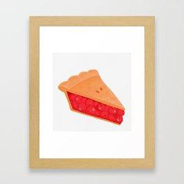 Cherry Pie Framed Art Print