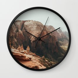 When We Remembered Zion Wall Clock