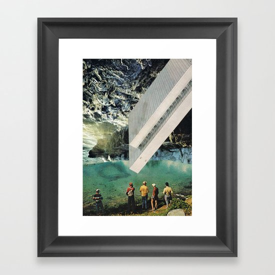the age of adz... Framed Art Print