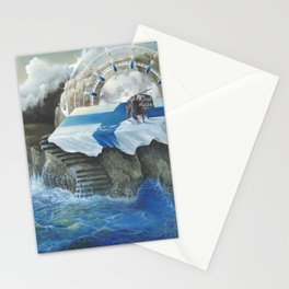 On The Other Side Of Wastelands - Oceanside Stationery Cards