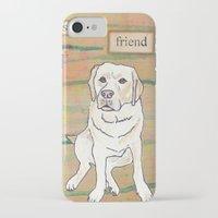 best friend iPhone & iPod Cases featuring Best Friend  by Tammy Kushnir