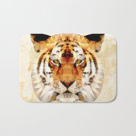 abstract tiger Bath Mat