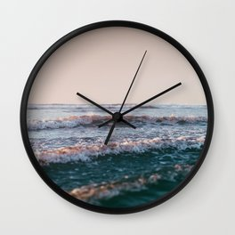 Pacific Lullaby Wall Clock
