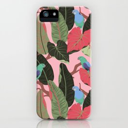 Sunny Hawaii Tropical Exotic Birds of Paradise iPhone Case