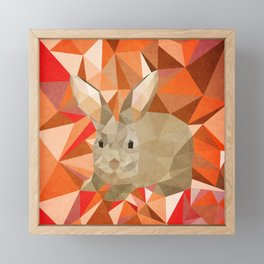 Rabbit 1 Framed Mini Art Print