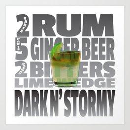 Dark N' Stormy Art Print