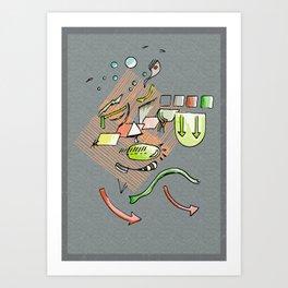 Ambient Form Art Print