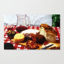 Fast Food - Spain Canvas Print