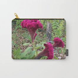 Pink Woolflowers Carry-All Pouch