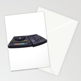 Classically Trained Turntable Music Novelity Equalizer Stationery Cards