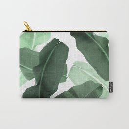 Green Banana Leaf Carry-All Pouch