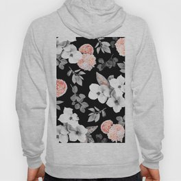 Night bloom - moonlit flame Hoody