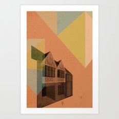 Pape Danforth Branch Art Print