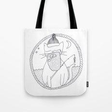 Cat fisherman Tote Bag