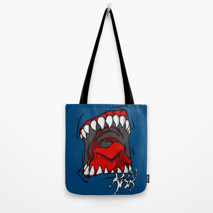 krik means shout in slovak Tote Bag