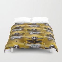 Classic Studebaker Grille Duvet Cover