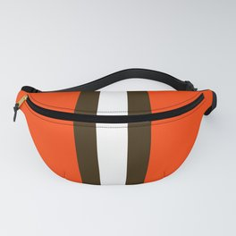 Cleveland Team Colors Fanny Pack