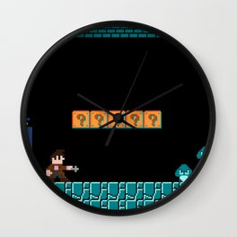 The Doctor Visits World 1-2 Wall Clock
