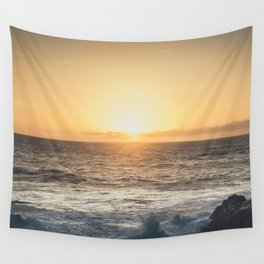 Winter glow Wall Tapestry