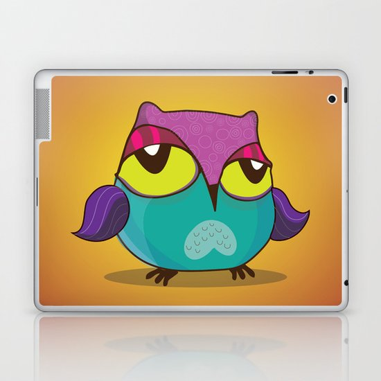 Owl 2 Laptop & iPad Skin