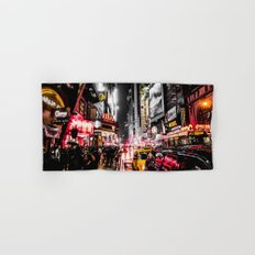 New York City Night II Hand & Bath Towel