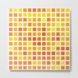 City Blocks - Sunshine #959 Metal Print