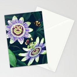 Passion Flower Vine Stationery Cards