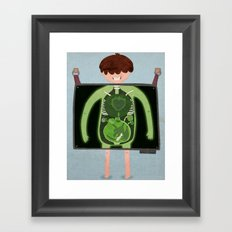 Wrong Insides - final version Framed Art Print