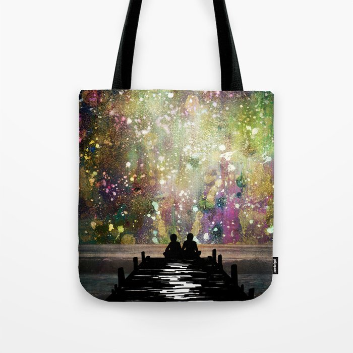 The Universe Was Ours Tote Bag