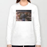fallout Long Sleeve T-shirts featuring Fallout Tribute by Hetty's Art