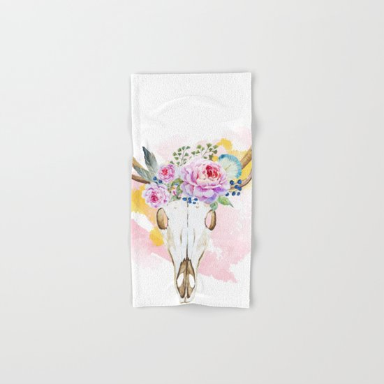 Animal Skull 02 Hand & Bath Towel