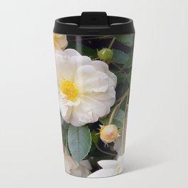Rose So Lovely Metal Travel Mug