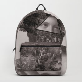Dame with a lot on her mind Backpack