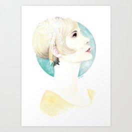 Daisy Buchanan Art Print