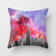 NEBULA NEW YORK Throw Pillow