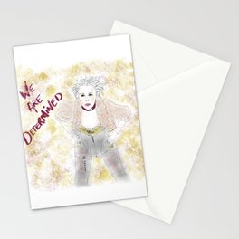 We are determined  Stationery Cards