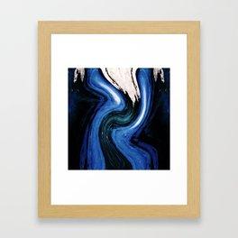 Starry Starry Bark Framed Art Print