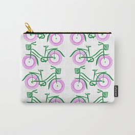Vintage Peloton, Pink Carry-All Pouch