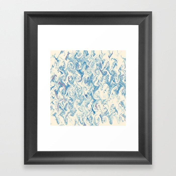 Japan's Waves Gerahmter Kunstdruck